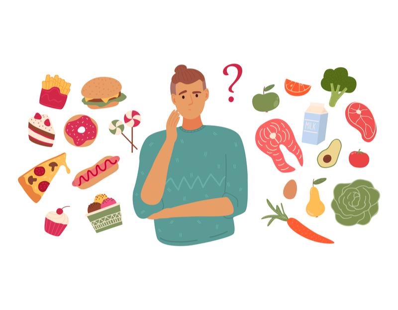 postanowienia, zmiany żywieniowe, cheat day